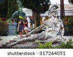 Corfu  Greece   August 20  2015 ...