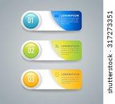 modern infographic design... | Shutterstock .eps vector #317273351