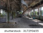 Warehouse In An Abandoned...