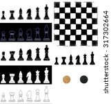 chess | Shutterstock .eps vector #317302664
