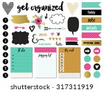 signs and symbols for organized ... | Shutterstock .eps vector #317311919