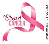 breast cancer awareness ribbon... | Shutterstock .eps vector #317320265