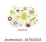 thin line flat design of modern ...   Shutterstock .eps vector #317321021