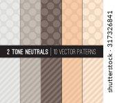 Neutral Color Jumbo Polka Dots...