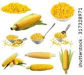yellow corn.   Shutterstock . vector #317328971
