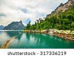 beautiful mountains lake river... | Shutterstock . vector #317336219