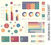 business infographic elements... | Shutterstock .eps vector #317341007