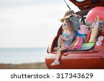 vacation  travel   family ready ... | Shutterstock . vector #317343629