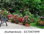 English Country Garden Rustic...