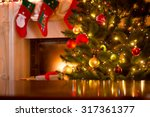 Christmas Holiday Background O...