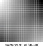 black and white square vector... | Shutterstock .eps vector #31736338