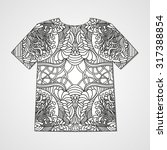 hand drawn doodle pattern....   Shutterstock .eps vector #317388854