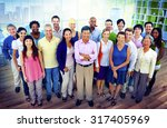 diversity business... | Shutterstock . vector #317405969
