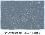 grunge texture.grunge vector... | Shutterstock .eps vector #317442851