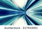 abstract high speed technology... | Shutterstock . vector #317443001