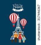 travel vacations design  vector ...   Shutterstock .eps vector #317446367