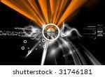 digital illustration of music... | Shutterstock . vector #31746181