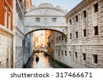 View Of The Bridge Of Sighs ...