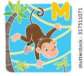 children illustration of little ... | Shutterstock .eps vector #317511071