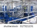 waste recycling plant. big... | Shutterstock . vector #317521151