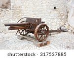 Antique Cannon For Artillery A...