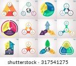 infographics  charts  graphs ... | Shutterstock .eps vector #317541275