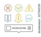 push notifications elements...