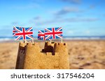 british seaside traditional... | Shutterstock . vector #317546204