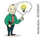vector illustration of a... | Shutterstock .eps vector #317548397