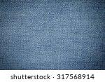 Blue Denim Jean Texture And...