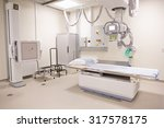 x ray department in modern... | Shutterstock . vector #317578175