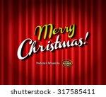 vintage style movie still  ... | Shutterstock .eps vector #317585411
