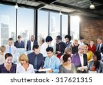 people global communication... | Shutterstock . vector #317621315