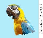 Polygonal Parrot  Geometric...