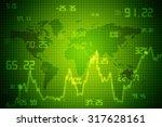 2d business graph background | Shutterstock . vector #317628161