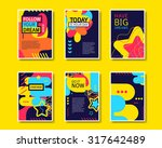 vector colorful design abstract ... | Shutterstock .eps vector #317642489