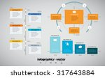 business infographics | Shutterstock .eps vector #317643884