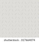 seamless monochrome striped... | Shutterstock .eps vector #317664074