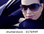 looking in the window of her car | Shutterstock . vector #3176949