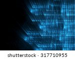 abstract business science or... | Shutterstock . vector #317710955