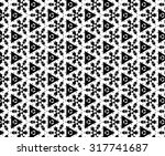 white and black patterns. ss | Shutterstock . vector #317741687