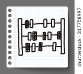 math toy doodle | Shutterstock . vector #317758997