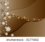floral background. vector | Shutterstock .eps vector #3177602