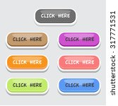 click here button set | Shutterstock .eps vector #317771531
