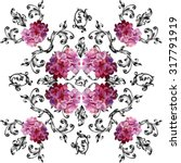 Seamless Pattern In Baroque...