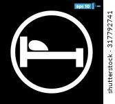 bed   Shutterstock .eps vector #317792741