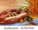 original german bavarian big...   Shutterstock . vector #317817044