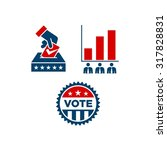 america election logo template | Shutterstock .eps vector #317828831