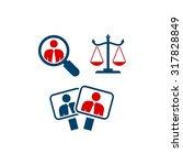america election logo template | Shutterstock .eps vector #317828849
