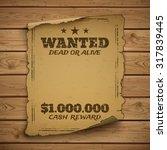 Постер, плакат: Wanted dead or alive